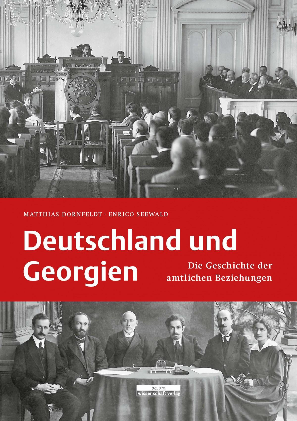 """Cover """"Deutschland und Georgien"""""""